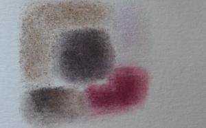 Un garabato para mostrar un poco la pigmentación