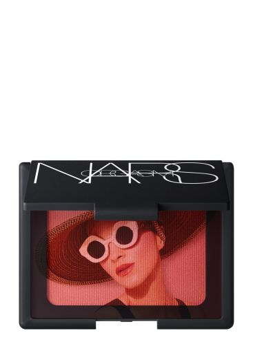 NARS Special Edition Orgasm Blush - open compact with vellum - jpeg