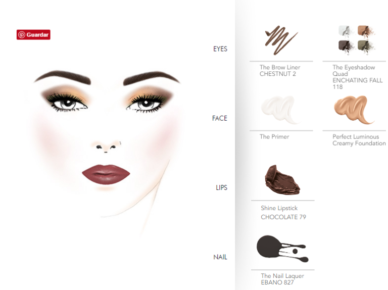 Dolce fall facechart (2)